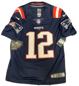 New Tom Brady Size M Vapor Men New England Patriots Rush Limited Nike Jersey NWT