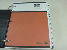 Case W36 Loader Service Manual Repair Shop Book NEW with Binder