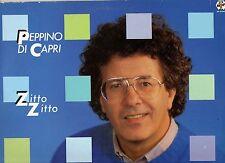 PEPPINO DI CAPRI raro disco LP 33 giri ZITTO ZITTO stampa ITALIANA 1985