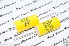 2pcs - ARCOTRONICS MKP 6uF (6µF) 400V 5% Axial Film Capacitor (MKP 1.44/2 SW)