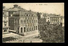Algeria ALGER Opera House 1924 PPC