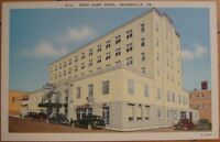 1940 Linen PC: Dixie Hunt Hotel-Gainesville, Georgia GA