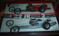 Revell 1/25 Tony Nancy 22 Jr Roadster & 22 Jr Dragster Model Car Mountain FS