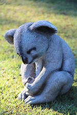 Large Koala Bear Cement Concrete Plaster Latex Molds Moulds Garden Ornament