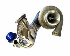 GARRETT GTX3582R 650HP 38MM WASTEGATE TURBO KIT FIT SKYLINE R32 R33 R34 GTST