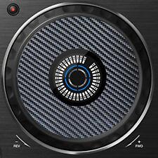 PIONEER CARBON FIBRE DDJ RX / RX2 JOG / SLIPMAT GRAPHICS / STICKERS CDJ DJM DDJ