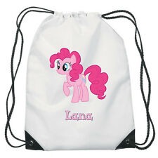 Pinkie Pie From My Little Pony Drawstring PE Bag Personalised swimming shoes Gym