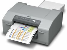 """EPSON GP-C831 COLORWORKS 8"""" COLOR LABEL PRINTER TRACTOR FEED USB ETHERNET"""