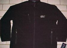Reliant an NRG Company Men Black Textured Soft Shell Full Zipper Jacket 2XL New