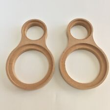 """A Pair MDF Speaker Mounting Spacer Rings W/ Dual Rings 1.2""""  & 3.5"""" With Bezel"""