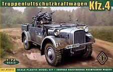 ACE 1/72 72512 WWII German KFZ.4 Truppen-Luftschutzkraftwagen AA Motor Vehicle