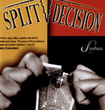 Split Decision (With Dvd) by Joshua Jay