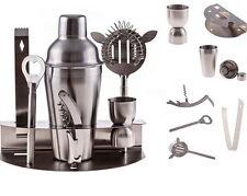 Bartender Shaker Cocktail Bar Set Mixer Steel Stainless Martini Tools Drink Kit