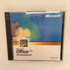 Microsoft MS Office XP Professional Upgrade 2002 Retail Genuine