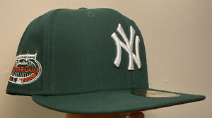 Exclusive NY Yankees 7 1/4 Watermelon Style Hat Patch Not Hat Club New York MLB