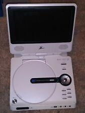 New listing Zenith Portable Dvd Player Dvp615 Swivel Screen w/ Power Cord -no Remote Control