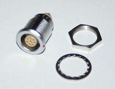 LEMO EGG.1B.308 CHASSIS SOCKET 8 PIN EGG.1B.308.CLL