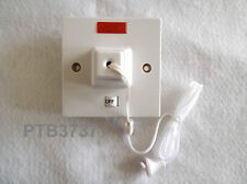 45A SHOWER CONTROL PULL SWITCH IN WHITE + NEON BY GET