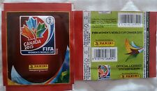 Bustina Packet PANINI FIFA CANADA 2015 WOMEN'S WORLD CUP WC