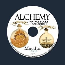 Alchemy Vintage Books Collection 114 PDF E-Books/Manuscripts 1 DVD Rosicrucians