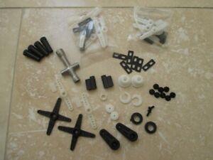 Tamiya Servo Saver Job Lot of Parts + Wrench - Mixture of Vintage and New