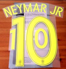 Brazil Third Shirt 2017-18 NEYMAR JR#10 OFFICIAL SportingiD Name Number Set