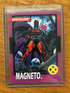 RARE 1992 X-Men Series 1 Trading Cards MAGNETO Toy Biz Variant Promo - MINT