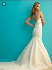 Allure Bridals 9259 Sweetheart Lace Wedding Dress Size 12