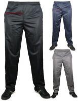New Mens Silky Zipped Pocket Jogging Pants Joggers Gym Sport Yoga Bottoms Unisex