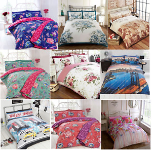 Gorgeous Single Double King Duvet Set - Bedding Pillow Quilt Blanket Cover Case