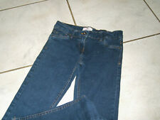 Super Jeans-Hose Röhre  Gr.152 dunkelblau w.Neu
