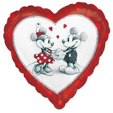 """DISNEY MICKEY MOUSE & MINNIE MOUSE IN LOVE - 18 """"Foil Balloon!"""