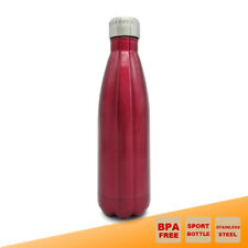 Double Wall Insulated Vacuum Bottle Stainless Steel Sport Kettle Cola Shaped