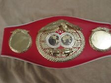 IBF CHAMPIONSHIP BOXING BELT,THE REAL DEAL 1000%, JUST LIKE THE REAL BELT