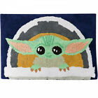 """Star Wars The Mandalorian The Child Carriage 20"""" x 30"""" Bath Rug Multi-Color"""