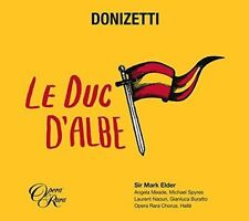 Donizetti: Le Duc d'Albe (CD, Feb-2016, 2 Discs, Opera Rara)
