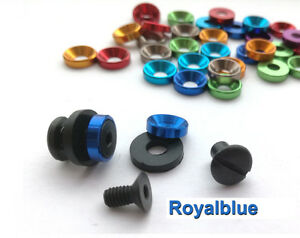 """0.29""""(7.5mm) colorful SUS304 Chicago Screws Kydex Holster Studs Bolts Screws"""