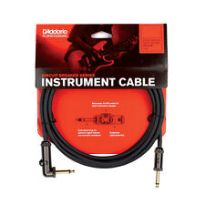 New! Planet Waves 10' Circuit Breaker Instrument Guitar Bass Cable Right Angle