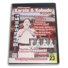 Okinawan Karate Kobudo Legends #23 Dvd Gichin Funakoshi Shotokan #Rs-0629 Rare!