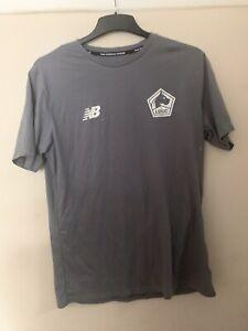 LOSC Lille Metropole Football T Shirt Jersey New Balance NEW