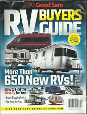 RV BUYERS GUIDE MAGAZINE,  2020 GOOD SAM   MORE THAN 650 NEW RVs !   ISSUE, 2020