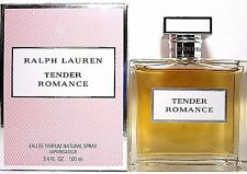 RALPH LAUREN TENDER ROMANCE EAU DE PARFUM SPRAY 3.4 Oz / 100ml BRAND NEW ITEM!!!