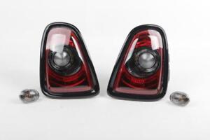 Mini R56 R57 LCI R58 R59 Rear Tail Lamp Black Line Retrofit Kit, 63212320380