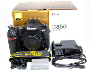 Nikon D850 Digital SLR Camera (Body Only) FX-Format **MINT** Condition