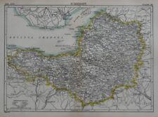 Antique European Maps Atlases Somerset Ebay