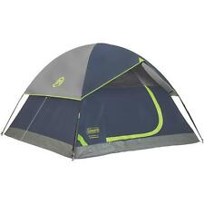 "Coleman 7' W X 7' L X 48"" High Webbed Floor 3-Person Dome Tent 2000024580"