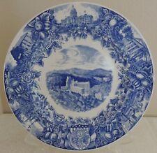RARE 1936 Blue & White ARKANSAS Centennial Collector Plate Wedgwood England