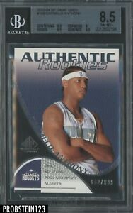 2003-04 SP Game Used Carmelo Anthony Nuggets RC Rookie 92/99 BGS 8.5