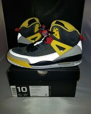 2012 DEADSTOCK Size 10 Air Jordan Spizike Black/Chilling Red-Silver Yellow Nice!