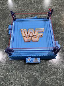 Vintage Hasbro 1989 WWF WWE Titan Sports Wrestling Ring **RARE**